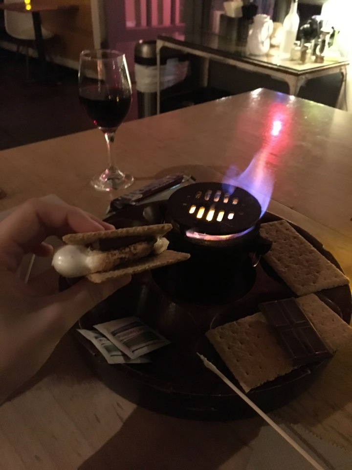 S'mores and Wine Night